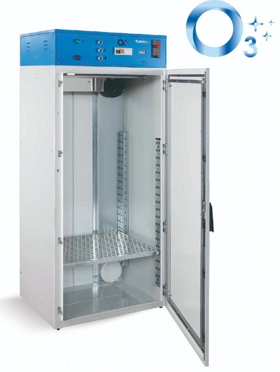 Cabina desinfectante de ozono